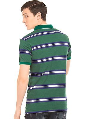 Ruggers Contrast Striped Polo Shirt