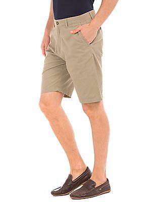 Arrow Sports Solid Regular Fit Shorts