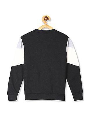 Cherokee Multi Colour Boys Long Sleeve Colour Block Sweatshirt