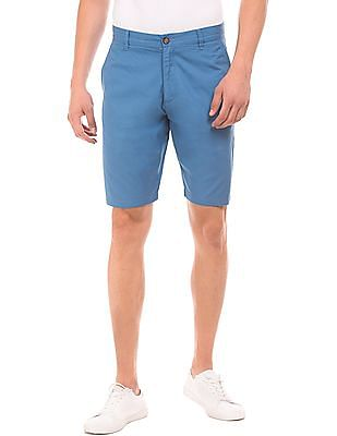 Arrow Sports Solid Regular Fit Shorts