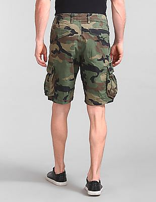 GAP Camo Print Cargo Shorts