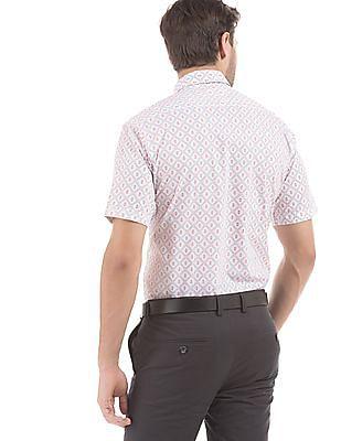 Arrow Sports Nautical Print Regular Fit Shirt
