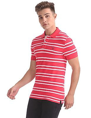 Gant Original 3-Color Contrast Pique Short Sleeve Rugger T-Shirt