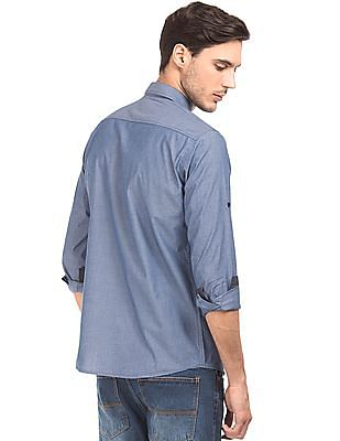 Ruggers Contemporary Fit Chambray Shirt