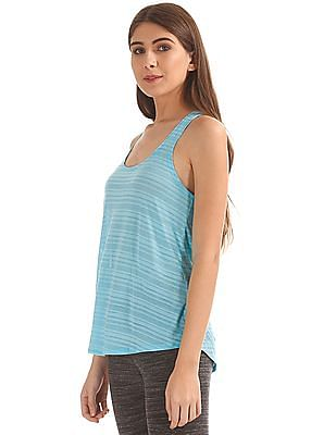 Aeropostale Burnout Stripe Active Tank Top