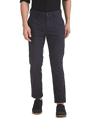 U.S. Polo Assn. Slim Fit Check Trousers