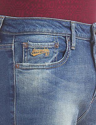 Aeropostale Super Skinny Fit Stone Washed Jeans