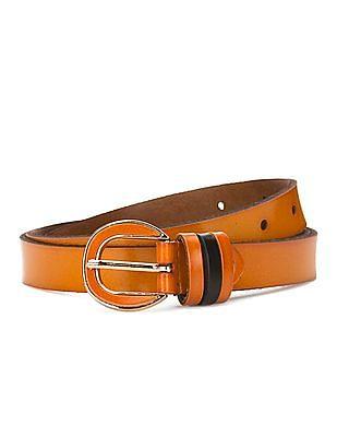 SUGR Slim Leather Belt