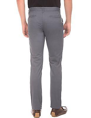 Izod Flat Front Slim Fit Trousers