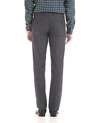 Arrow Flat Front Slim Fit Trousers