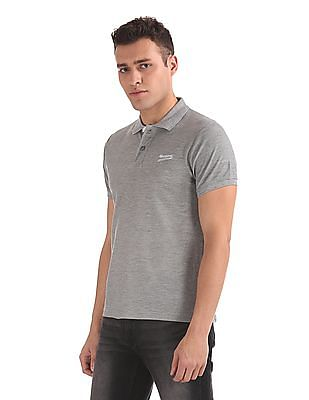Newport Exclusive Regular Fit Heathered Polo Shirt
