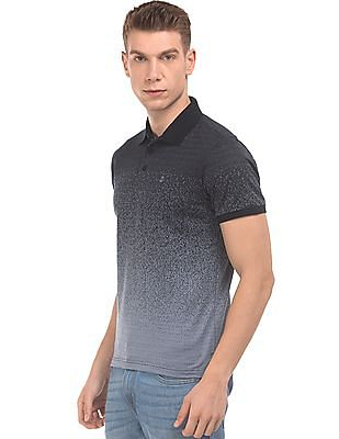 Izod Jacquard Knit Slim Fit Polo Shirt