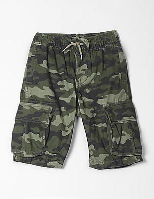 GAP Boys Print Cargo Shorts