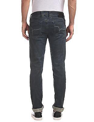 Flying Machine Slim Tapered Dark Wash Jeans