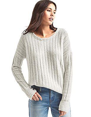 GAP Ribbed Crew Neck Sweater