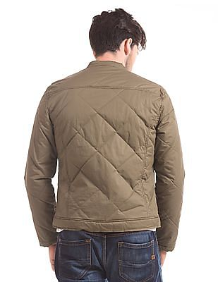 Flying Machine Quilted Puffer Jacket