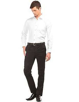 Arrow Self Stripe Slim Fit Shirt