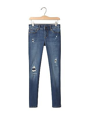 GAP Girls 1969 High Stretch Super Skinny Jeans