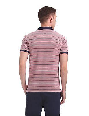 Gant 4-Color Oxford Pique Short Sleeve Rugger Polo