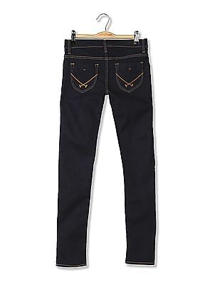 U.S. Polo Assn. Women Skinny Fit Dark Wash Jeans