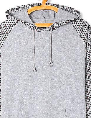 Cherokee Hooded Raglan Sleeve Sweatshirt