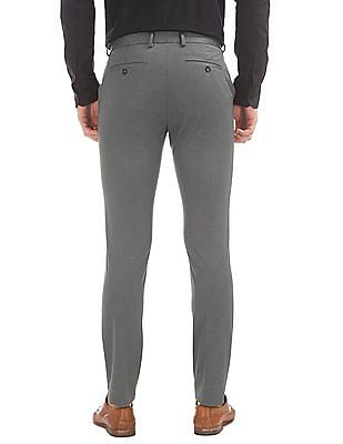 USPA Tailored Super Slim Fit Patterned Trousers