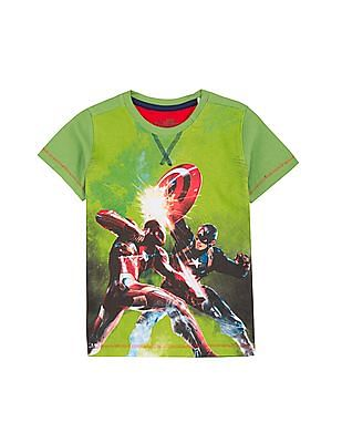 Colt Boys Printed Cotton T-Shirt