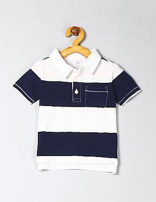 GAP Toddler Boy Pocket Polo T-Shirt