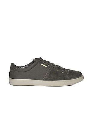 U.S. Polo Assn. Suede Trim Lace Up Sneakers