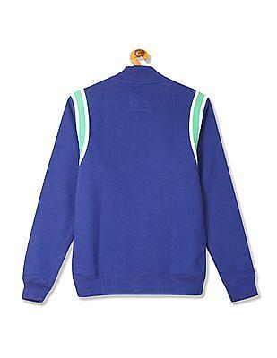 Flying Machine Regular Fit Zip Up Sweatshirt