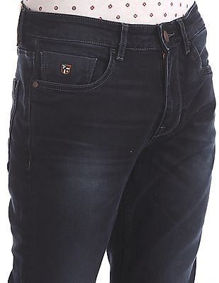 U.S. Polo Assn. Denim Co. Slim Tapered Fit Dark Wash Jeans