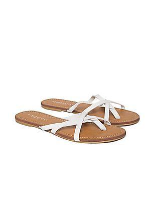 Aeropostale Criss Cross Strap Sandals