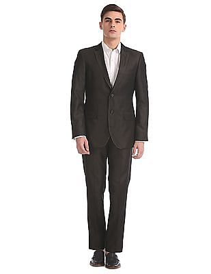 Arrow Body Tailored Regular Fit Single Breasted Suit