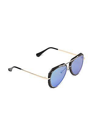 SUGR Round Frame Polarized Sunglasses