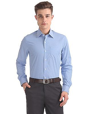 Arrow Slim Fit Striped Shirt