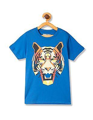 FM Boys Boys Short Sleeve Cotton T-Shirt