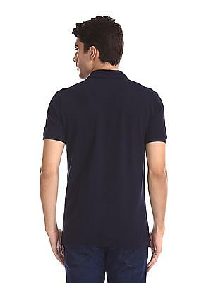 Aeropostale Short Sleeve Pique Polo Shirt