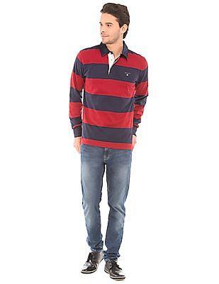 Gant Striped Regular Fit Polo Shirt