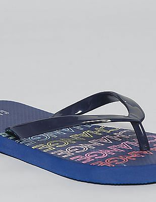 GAP Girls Graphic Flip Flops