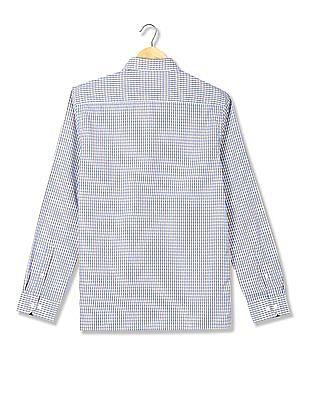 Excalibur Slim Fit Checked Shirt