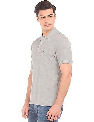 Arrow Sports Short Sleeve Regular Fit Polo Shirt