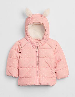 GAP Baby ColdControl Max Bunny Puffer Jacket