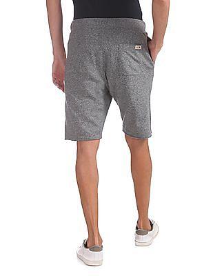 U.S. Polo Assn. Denim Co. Regular Fit Heathered Shorts