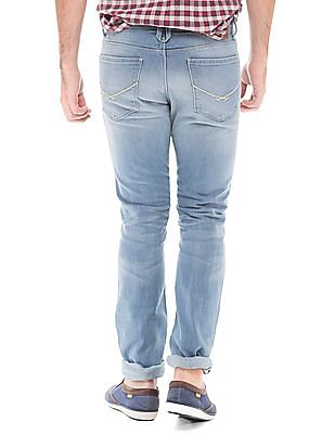 U.S. Polo Assn. Denim Co. Stone Washed Skinny Fit Jeans
