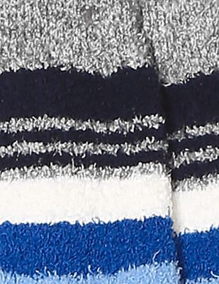 GAP Boys Cozy Crazy Stripe Socks