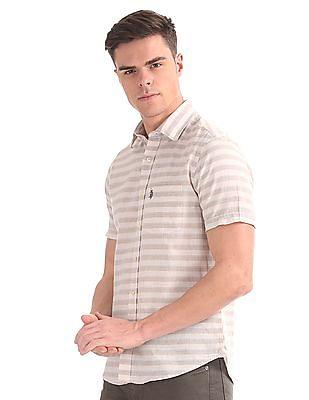 U.S. Polo Assn. Striped Short Sleeve Shirt