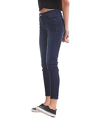 Flying Machine Women Veronica Skinny Fit Stone Wash Jeans