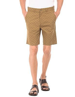 Ruggers Printed Cotton Shorts
