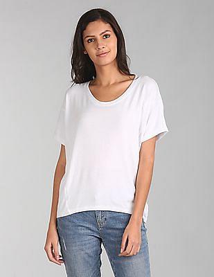 GAP Softspun Short Sleeve Panel T-Shirt