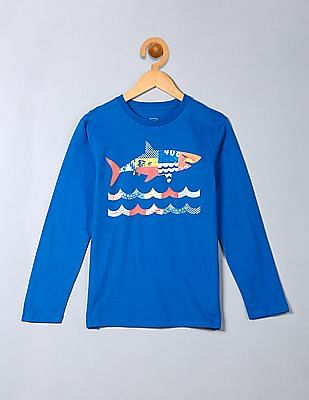 GAP Boys Graphic Long Sleeve Tee